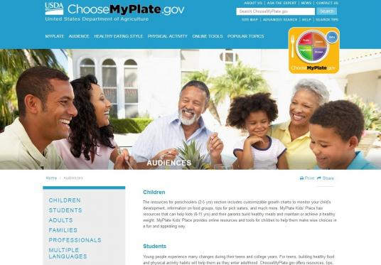 Young people experience many changes during their teens and college years. ChooseMyPlate.gov offers resources, tips, and ideas that can help teens take charge and learn to make their own choices.